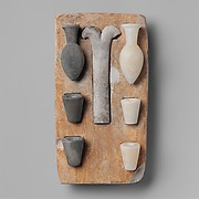 """Model of the """"Opening of the Mouth"""" ritual equipment"""