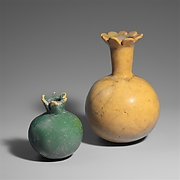 Two Bottles in the Form of Pomegranates