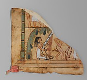 Fragment of a Leather Hanging(?) with an Erotic Scene