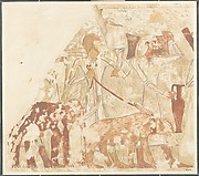 Syrians Bringing an Elephant and a Bear, Tomb of Rekhmire