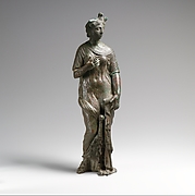 Isis-Aphrodite with Egyptian vulture cap