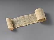 Mummy Bandage from Tutankhamun's Embalming Cache