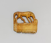 Comb with a horse