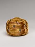 Circular Basket with Lid
