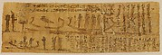 Book of the Dead Papyrus with Chapters 100 and 129