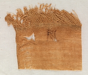 Linen marks from the wrappings of Henhenet's mummy