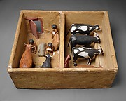 Model Cattle stable from the tomb of Meketre