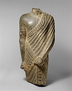 Torso of a Striding Draped Male Figure