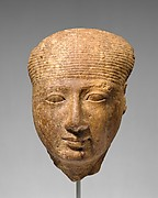 Head of a goddess