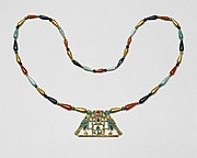 Pectoral and Necklace of Sithathoryunet with the Name of Senwosret II