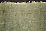 Length of Very Sheer Linen Cloth; linen mark