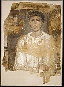 Fragmentary Shroud with a Bearded Young Man