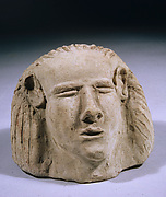 Canopic jar head