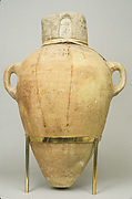 Sealed Amphora Containing Oil