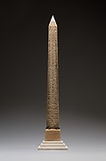 "Model of the New York Obelisk (""Cleopatra's Needle"")"