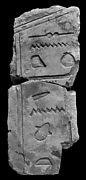 Sunk relief fragment