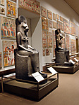 Two Statues of the Goddess Sakhmet