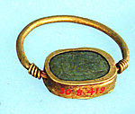 Ring, scaraboid