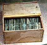 Shabti Box and Shabtis of Gautsoshen
