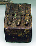 Mummy case, lizard