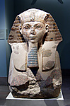 Head and Shoulders of a Sphinx of Hatshepsut