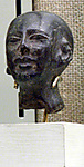 Head of male statue