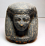 Canopic jar lid