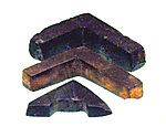 Amulet, surveyor's level, carpenter's square