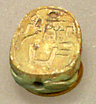 Scarab with the Throne Name of Thutmose I