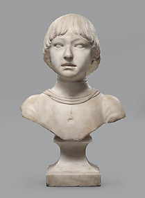 Bust of a Young Boy About Six Years Old
