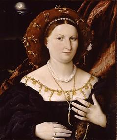 Portrait of Lucina Brembati