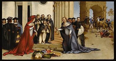 Saint Dominic Reviving Napoleone Orsini