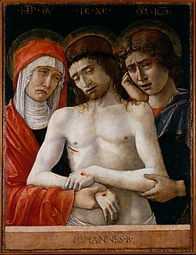 Pietà with the Virgin and Saint John
