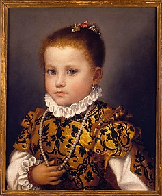 Portrait of a Little Girl of the Redetti Family