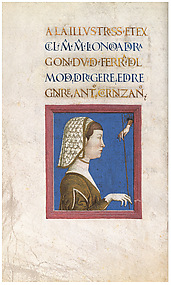 Eleonora of Aragon, from Antonio Cornazzano's