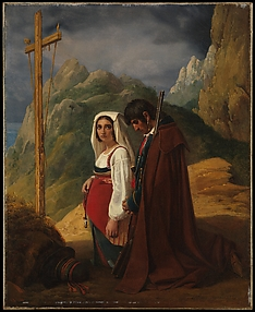 Brigand and His Wife in Prayer