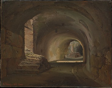 Interior Passage in the Colosseum