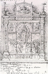Project for the High Altar of S. Maria degli Angeli, Apricale