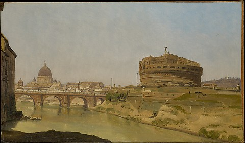 Rome with St. Peter's and Castel Sant'Angelo