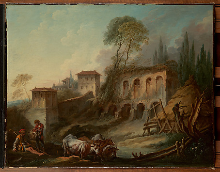 Imaginary Landscape with the Palatine Hill...