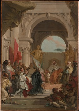 The Investiture of Bishop Harold as Duke o...