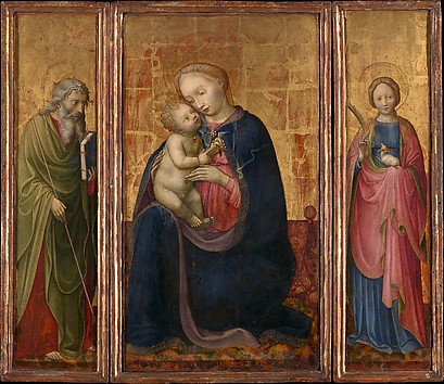 Madonna and Child with Saints Philip and A...
