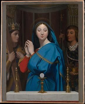 The Virgin Adoring the Host