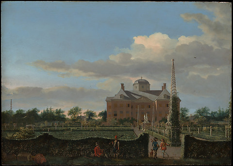 The Huis ten Bosch at The Hague and Its Fo...