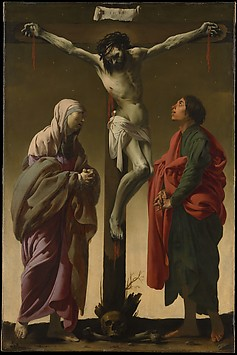 The Crucifixion with the Virgin and Saint ...