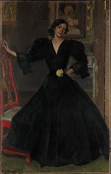 Señora de Sorolla (Clotilde García del Cas...