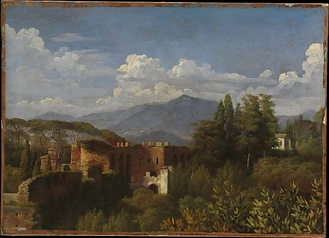 View of Porta Pinciana from the Gardens of...