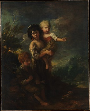 Cottage Children (The Wood Gatherers)