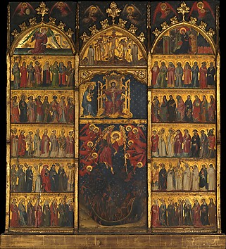 The Trinity Adored by All Saints