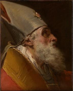 Head of a Bishop